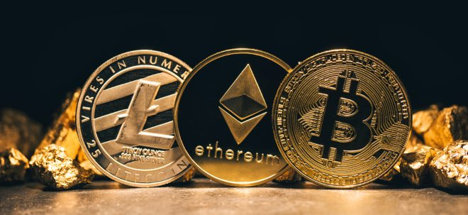 Bitcoin, Ethereum, Litecoin & Co. am Freitag
